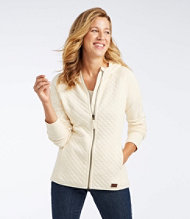 Quilted Full-Zip Jacket, Hooded