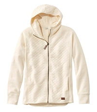 Women's Quilted Full-Zip Hooded Jacket