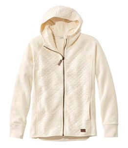 Women's Quilted Full-Zip Jacket, Hooded