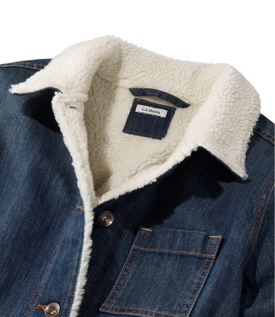 1912 Jean Chore Jacket, Sherpa-Lined