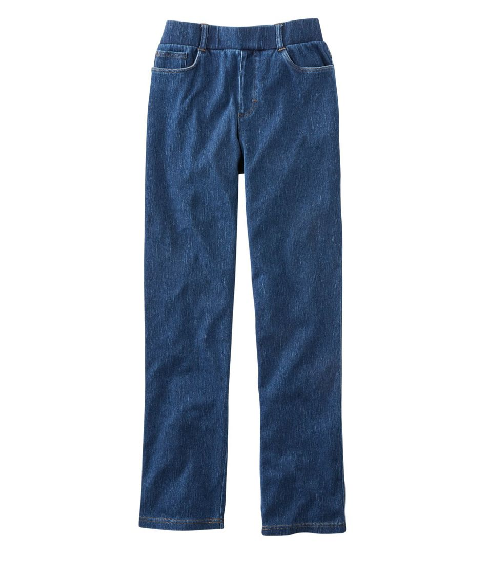 Perfect Fit Pants, Five-Pocket Slim Denim