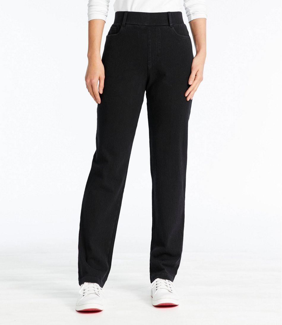 Perfect Fit Pants, Five-Pocket Slim Denim