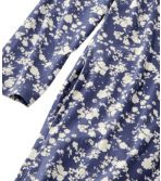 Women's Organic Supersoft Shrink-Free Nightgown, Print