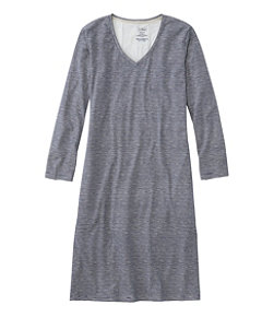 Organic Supersoft Shrink-Free Nightgown, Print