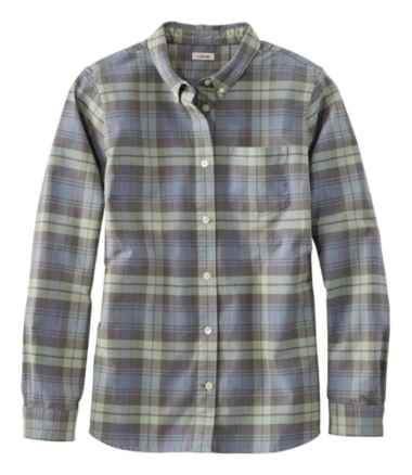 Lakewashed® Organic Cotton Oxford Shirt, Plaid