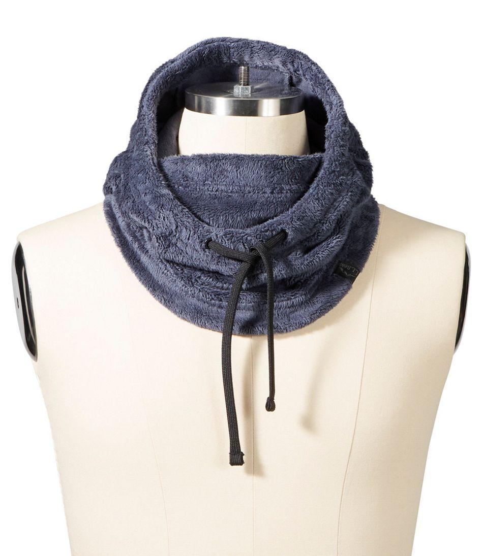 Luxe Fleece Hooded Scarf