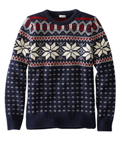1912 Heritage Sweater, Norwegian Crew Fair Isle