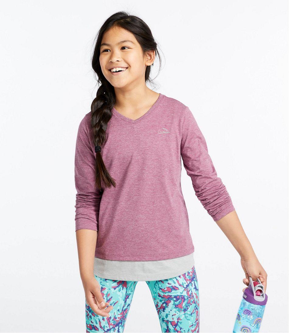 Girls' Pathfinder Tee, Long-Sleeve