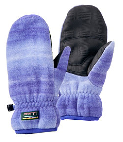 Kids' Mountain Classic Fleece Mittens, Print