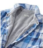 Women's Fleece-Lined Flannel Shirt, Snap-Front Plaid