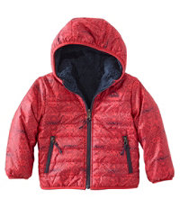 Infants' and Toddlers' Mountain Bound Reversible Jacket, Print