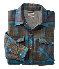 Overland Performance Flannel Shirt, Fleece Lined