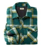 Men's Overland Performance Flannel Shirt, Fleece Lined