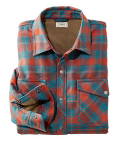 Men's Overland Performance Flannel, Shirt Fleece Lined