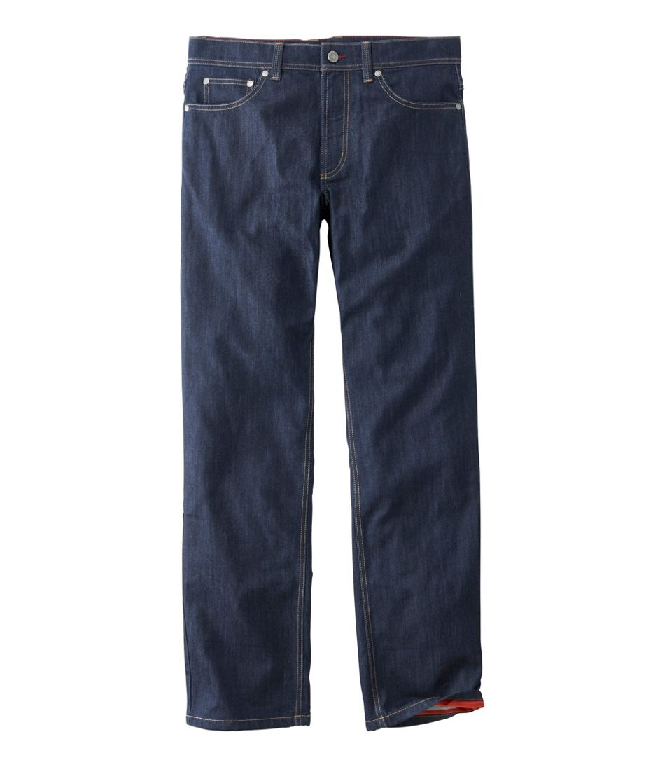 Men's Cliffside Cordura Jeans, Fleece Lined