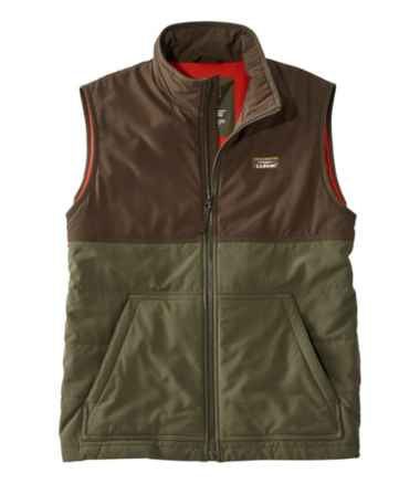 Men's Insulated Stretch Vest, Colorblock