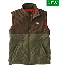 Men's Insulated Stretch Vest, Color Block