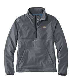 Men's Insulated Stretch Pullover, Colorblock