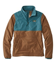 Men's Insulated Stretch Pullover, Color Block