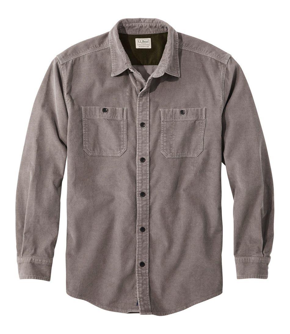 Lakewashed® Corduroy Shirt, Traditional Fit Long-Sleeve