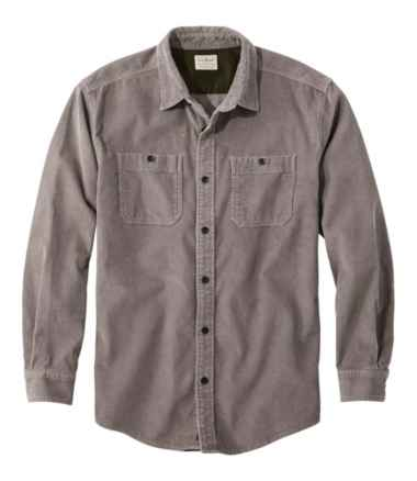 Lakewashed® Corduroy Shirt, Traditional Fit Long-Sleeve