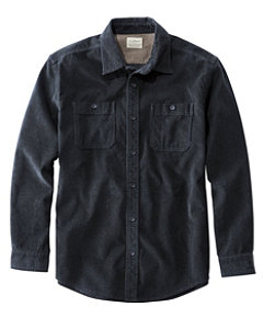 Lakewashed Corduroy Shirt, Traditional Fit Long-Sleeve