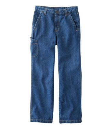 Katahdin Iron Works Utility Pant, Natural Fit, Denim