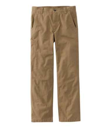 Katahdin Iron Works Fleece Utility Pant, Natural Fit, Lined