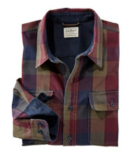 Men's Lined Hurricane Shirt, Traditional Fit Plaid