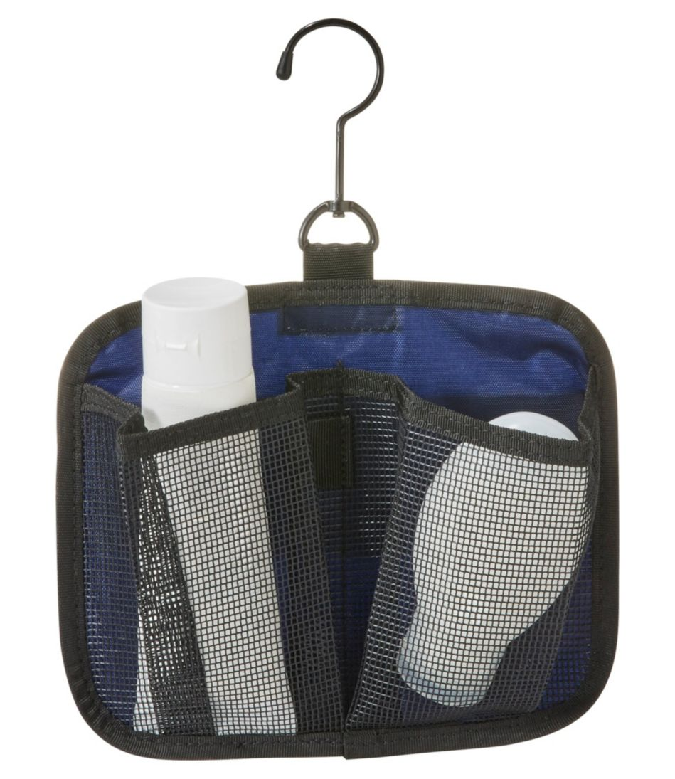 Personal Organizer Toiletry Bag, Tri-Color Large