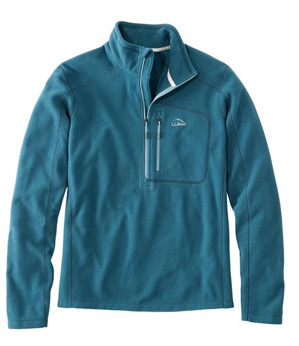 Men's Trail Fleece Quarter-Zip Pullover, Deep Admiral Blue/Slate, large image number 0
