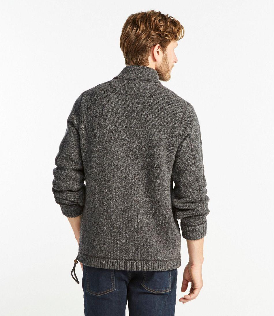 L.L.Bean Classic Ragg Wool Sweater, Anorak