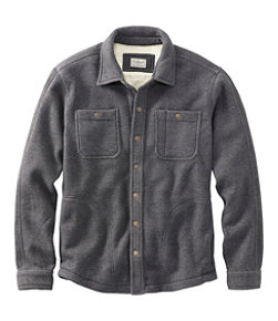 Katahdin Iron Works Bonded Waffle Fleece, Shirt Jac