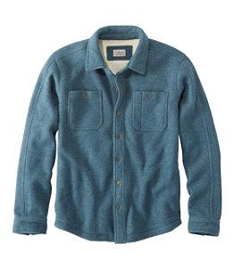 Men's Katahdin Iron Works Bonded Waffle Fleece, Shirt Jac