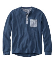 Katahdin Iron Works Heavyweight Henley, Long-Sleeve