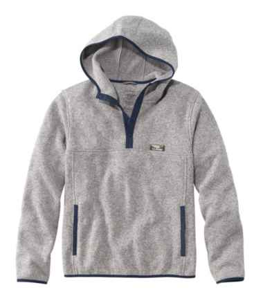 Sweater Fleece Hooded Pullover