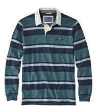 Lakewashed Rugby, Traditional Fit Long-Sleeve Shadow Stripe