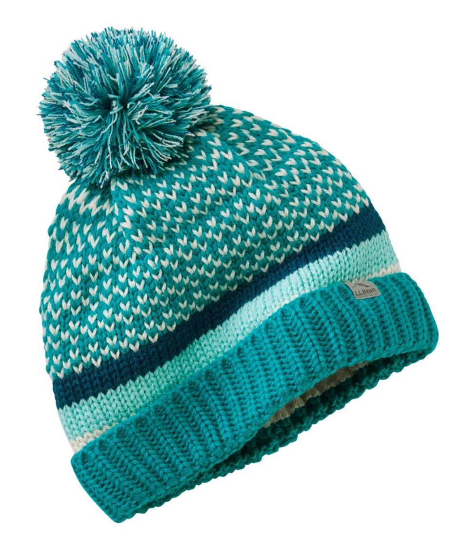 Kids' Happy Pom Hat