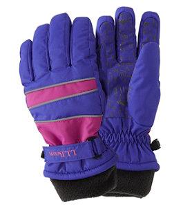 Kids' Wintry Mix Waterproof Gloves