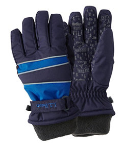 Kids' Wintry Mix Waterproof Gloves