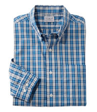 Wrinkle-Free Vacationland Shirt, Slightly Fitted Long-Sleeve Plaid