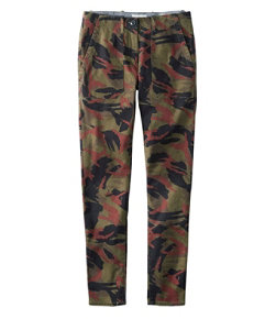 Signature Slim Utility Pants, Print
