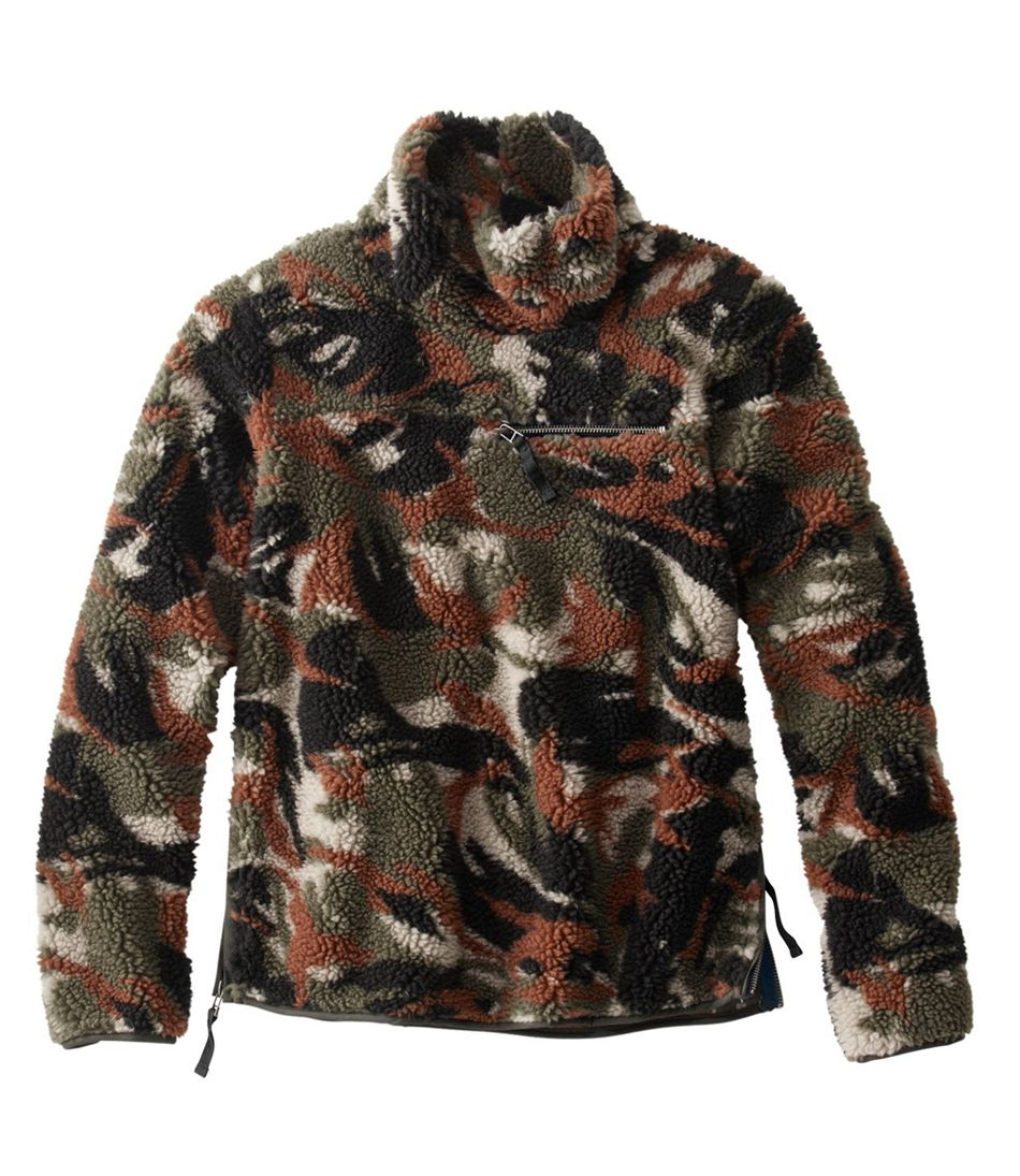 Signature Fleece Pullover, Jacquard