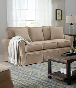 Sunbrella Slipcovered Sofa