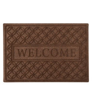 Waterhog Doormat, Recycled, Welcome, Locked Circles