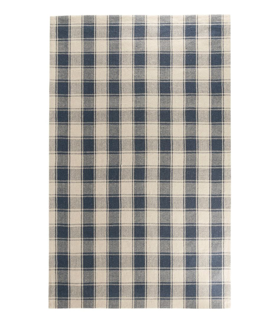 Navy Plaid Rug Uniquely Modern Rugs