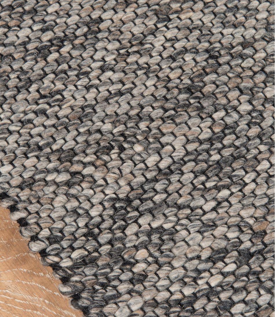 Pebbles Wool Rug Gray