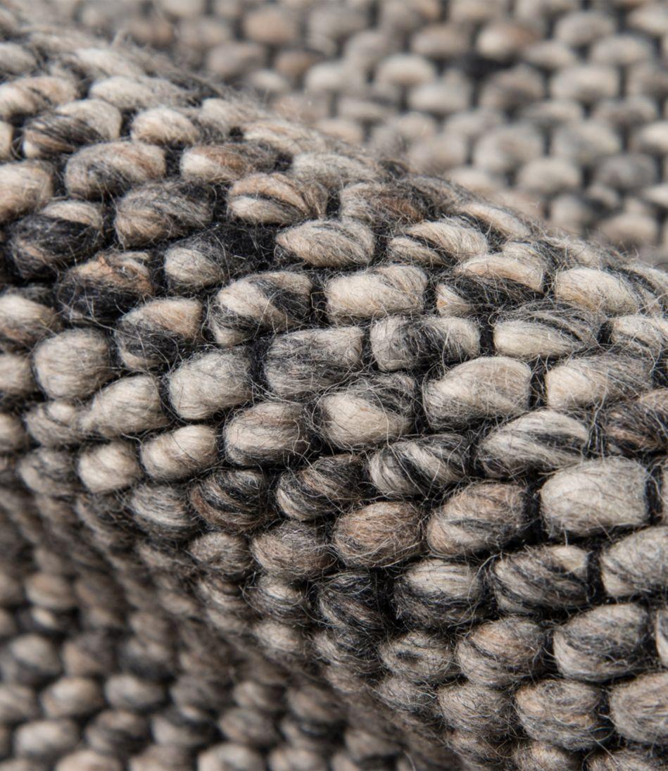 Pebbles Wool Rug, Gray