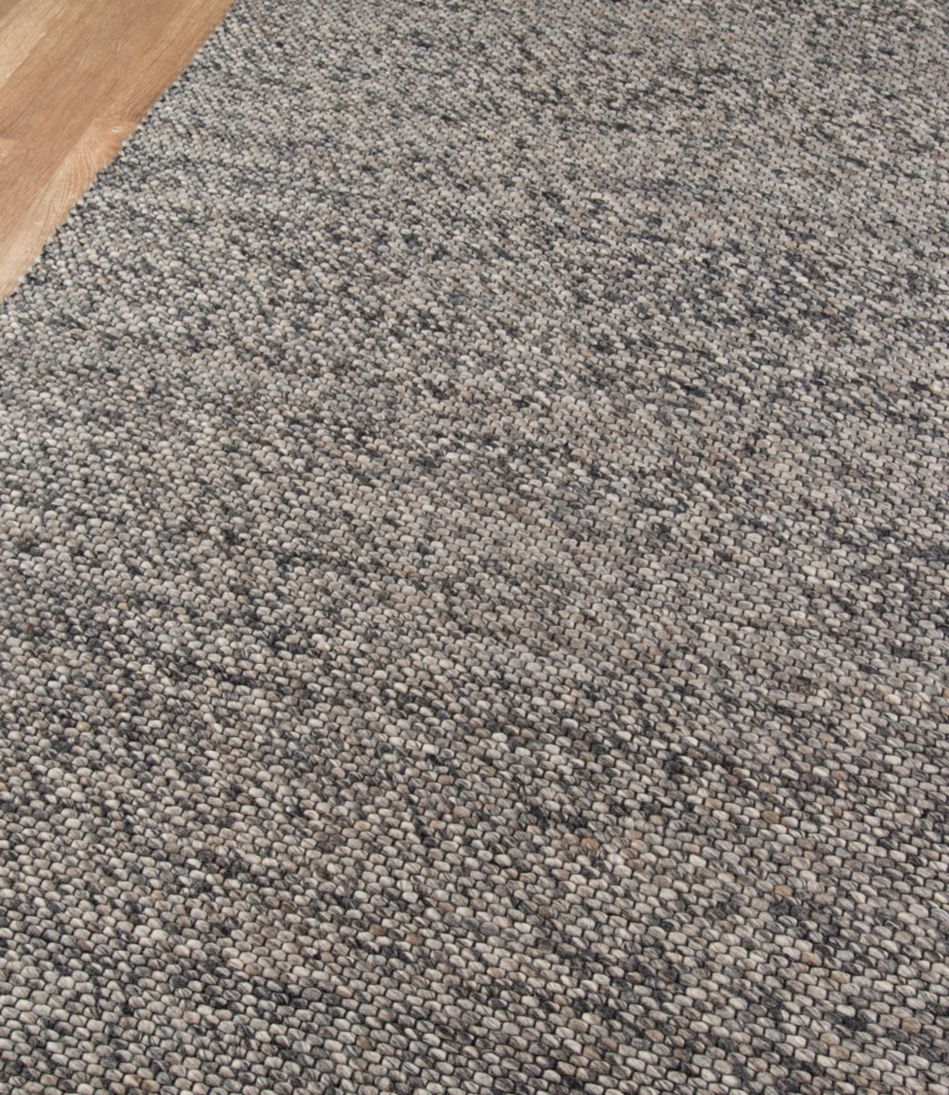 Pebbles Wool Rug, Gray