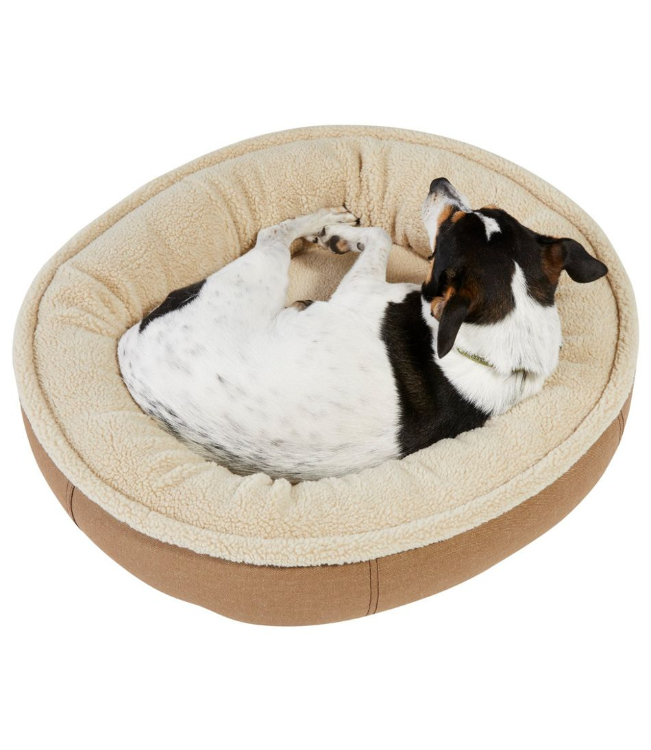 Premium Oval Bolster Dog Bed